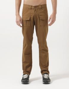Copper Cotton Canvas Bush Pants