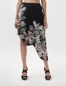 Coralee Rainbow Embellished Skirt
