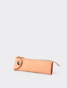 London Tan Leather Pencil Case I
