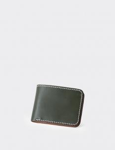 Vessel III Americana Dark Olive Short Wallet