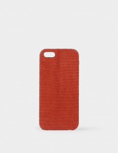Firebrick Red Lizard Cover for iPhone 5
