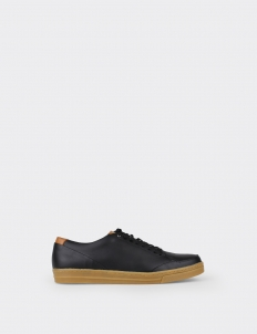 Black 7PM Low Top Sneakers