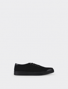 All Black 6AM Low Top Sneakers