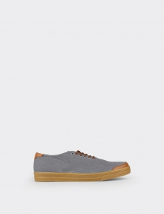 Gray Tan 6AM Low Top Sneakers