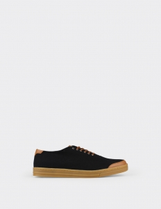 Black Tan 6AM Low Top Sneakers