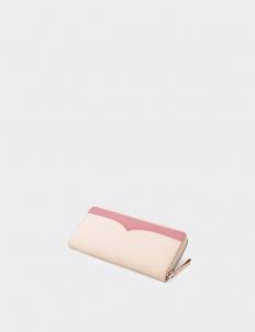 Catalina Natural Pink Long Wallet