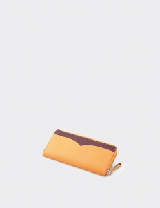 Catalina Maple-Berry Long Wallet