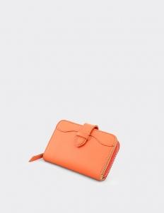 Naia Tangerine Short Wallet