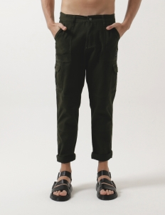 Green Locale Cargo Pants