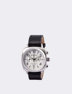 Briston Clubmaster Classic Steel Chronograph with White Dial