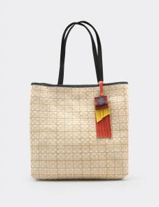 Timea Leather Nougat