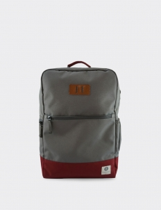Charcoal - Maroon Neville Backpack