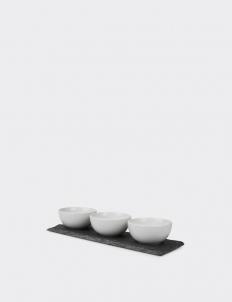 Naturals Slate Dip Dish Set