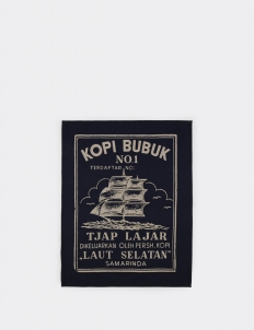 Kopi Bubuk Tjap Lajar Tea Towel