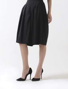 Black Dahlia Pleated Culottes