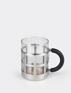 Mug B Silver Glass
