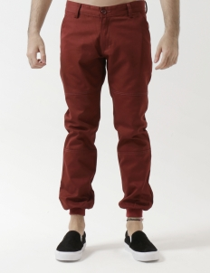 502 - Red Ribbed Trouser