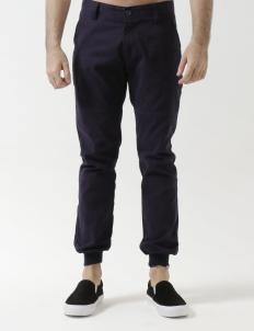 502 - Dark Blue Ribbed Trouser