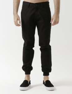 502 - Black Ribbed Trouser