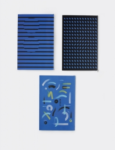Blue Notebook (A Set of 3)