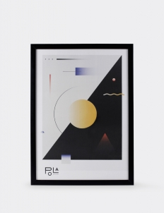 Geometrical Abstraction Poster 1