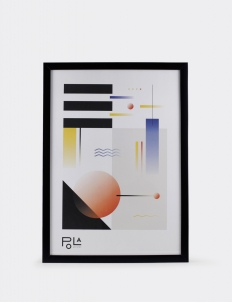 Geometrical Abstraction Poster 2