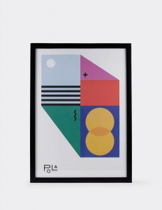 Geometrical Abstraction Poster 3