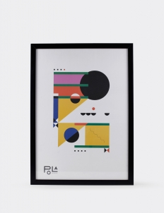 Geometrical Abstraction Poster 4