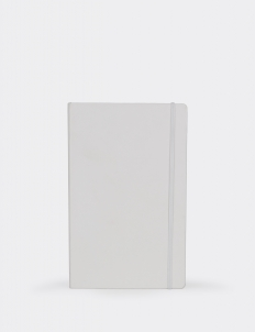 White Classic Notebook - Ruled