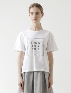 Sixteen Denim Scale T-Shirt