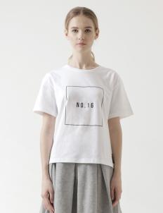 No. 16 White T-Shirt