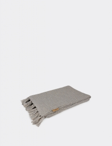 Knitted Blanket Misty Grey