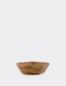 Serve Bowl Teak Medium