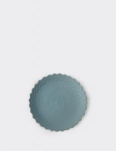 Light Blue Ruma Manis Dahlia Summer Medium Plate