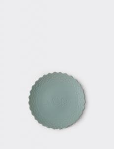 Baby Blue Ruma Manis Dahlia Summer Medium Plate