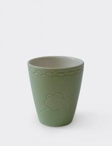 Dusty Green Ruma Manis Dahlia Summer Cup