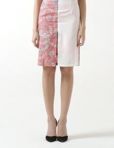 Rue Slit Skirt in Pink