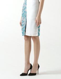 Rue Slit Skirt in Teal