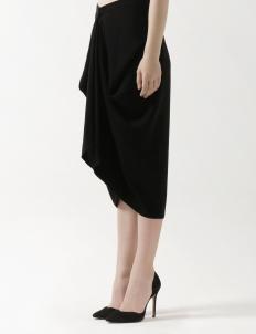 Lovina Midi Skirt Black