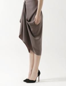 Lovina Midi Skirt Grey