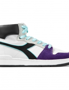 White/Black/Violet Purple Opulen Basket 80 Act Shoes