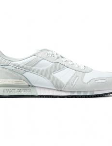White Titan Leather L/S Shoes