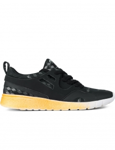 Black Camouflage Running Sneakers