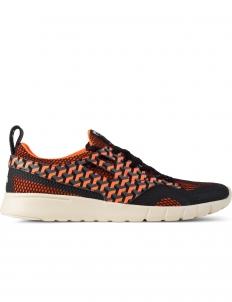 Orange Pattern Running Sneakers