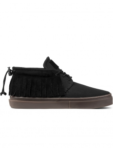 Black Canvas/suede The One-o-one Mid Top Sneakers