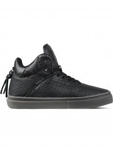 Black Perf Leather The One-ten Mid Top Sneakers