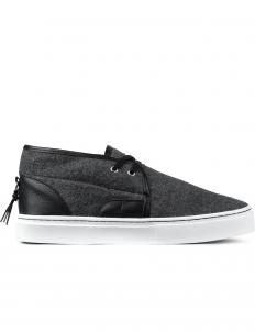 Grey Wool Lakota Mid Top Sneakers