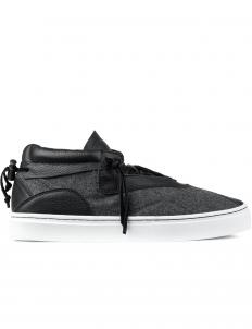 Grey Wool Everest Mid Top Sneakers