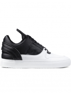 Black/white Black/white Mesh Low Top Sneakers