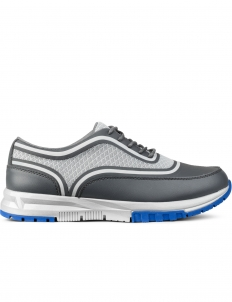 Grey Tip Mesh Sneakers
